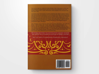 Valerius Antias and Caesar back cover