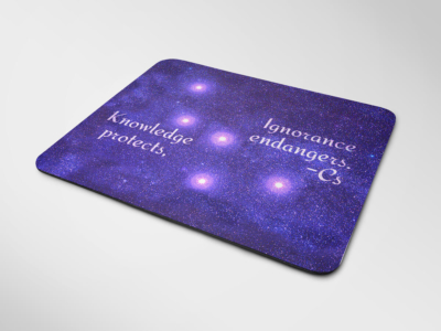 Mousepad - Knowledge Protects