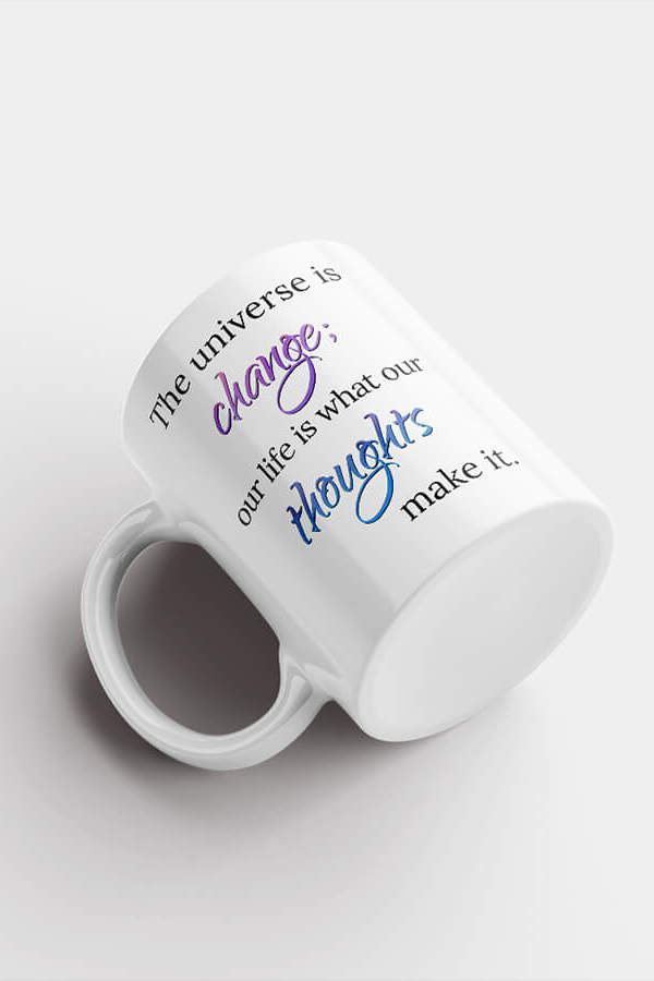 Mug – The Universe Is Change...