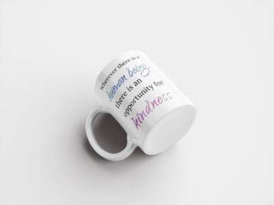 Mug – Wherever There is a Human...