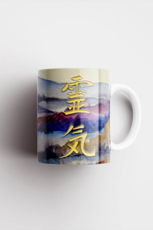 Mug – Rei Ki, Watercolor