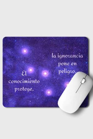 Mousepad - El conocimiento protege